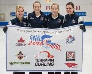 2016 Cash Spiel Women's Team